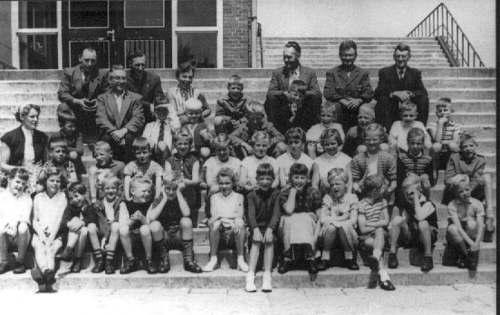 NR863 schoolreisje naar den Helder 1957
