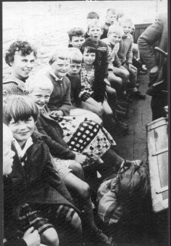 NR866 Schoolreisje per boot ca 1961