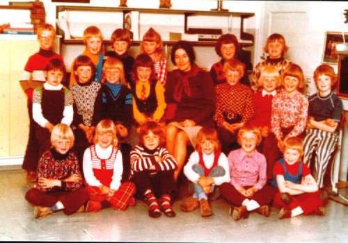 NR884 CVO schoolklas 1+2 Mevr Nijenhuis 1973