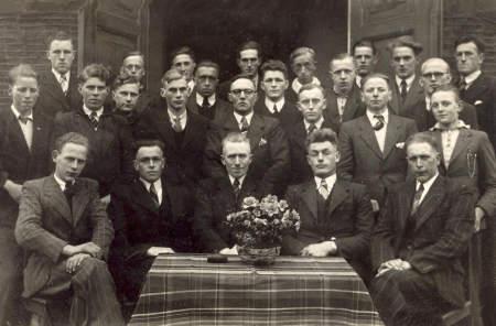 C.J.V. Tjerkwerd voor de Kerk