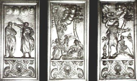 NR048 Houtsnijwerk van de preekstoel