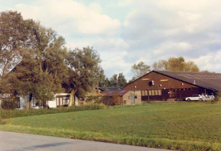 Bolswarderweg 4. rond 1990 foto G.Mulder