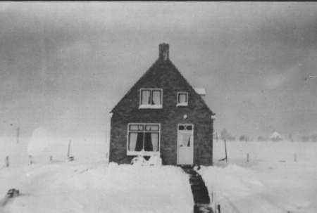 NR354 in de sneeuw