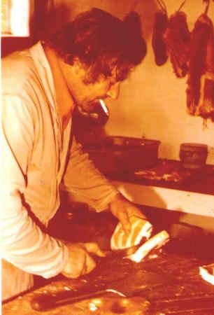Binke in de slagerij
