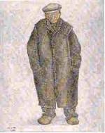 Piet Euzie skildere troch Jopie Huisman