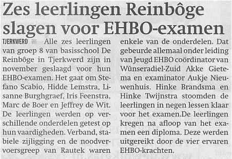 EHBO basisschool 2