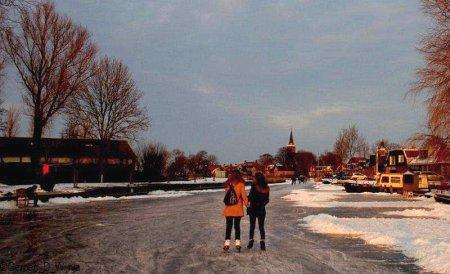 4. Tsjin de jûn wurdt der ôfbûn en sette de lêste riders op hûs oan. Foto: Gerben D. Wijnja, sneon 11 febrewaris 2012