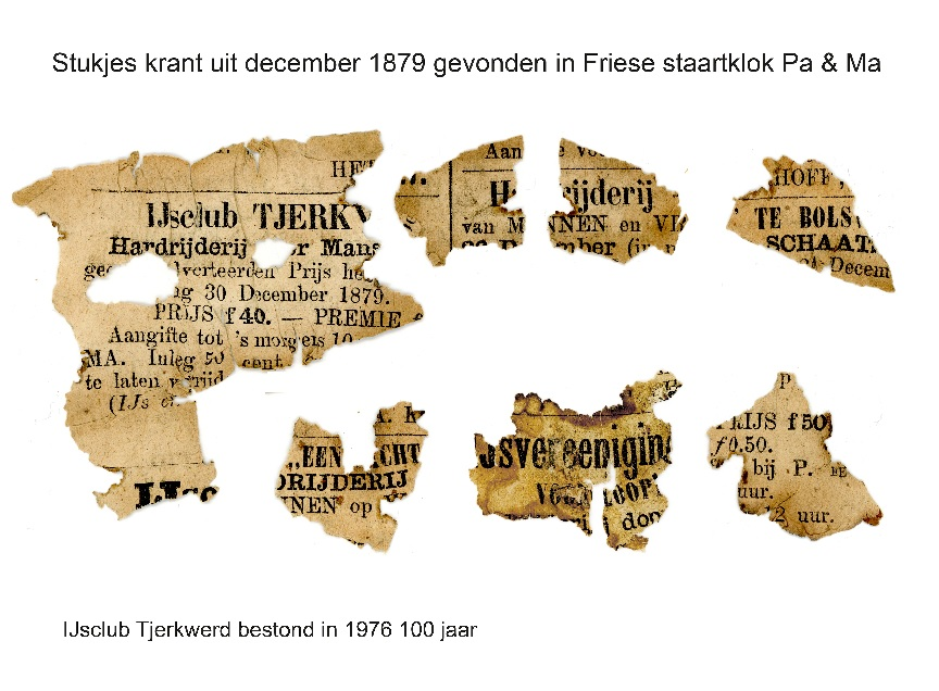 stukje krant ijsclub 100 jaar